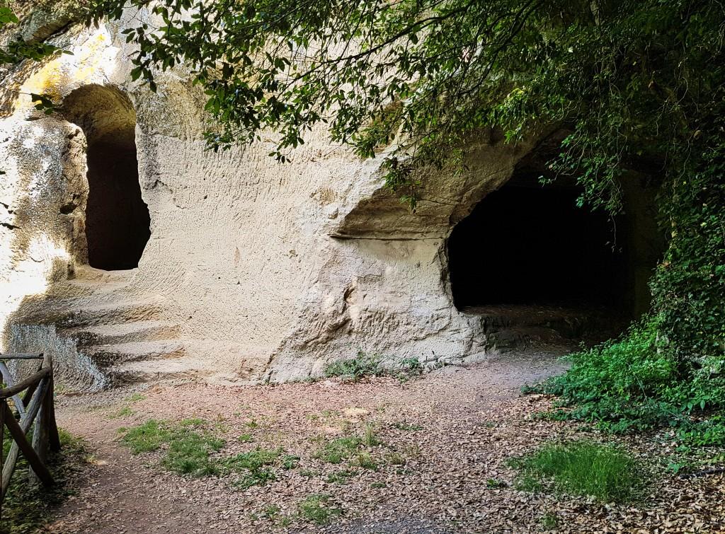 Case nel Tufo nella Via delle Cave